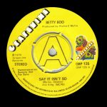 Betty Boo - Say It Isn't so - Grapevine UK DEMO